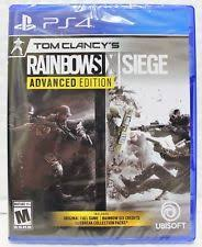 siege sony tom clancys rainbow six siege sony playstation 4 ps4 ebay