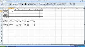 timesheet template multiple u haisume excel microsoft excel
