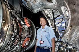 Aircraft Machinist Aircraft Maintenance Engineer Rachel Bacon Australian