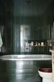 panelled bathroom ideas green gloss bathroom brunswick green columnist green