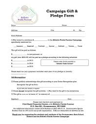 pledge cards template ideas collection fundraising pledge card template spectacular