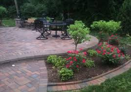 landscape around trees with brick how to create nice landscape