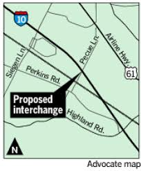 Interstate 10 Map Why There U0027s Sense Of Urgency To Build New Pecue Lane Interstate
