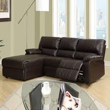 Sectional Leather Sofas For Small Spaces Best Small Leather Sofa With Chaise Interiorvues