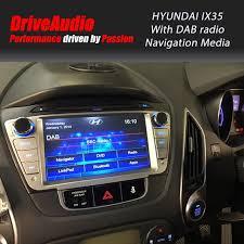 hyundai tucson navigation hyundai ix35 2010 onwards dab premium navigation media system hyu