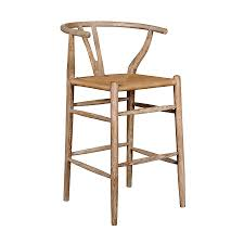 oslo natural counter stool by bungalow 5 collectic home