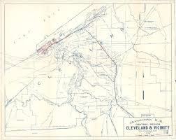 Cleveland Ohio Map by Cleveland Rr Maps