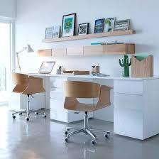 bureau à la maison chaise de bureau blanche design chaise de bureau ikaca chaise de