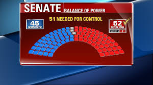 2016 Senate Election Map by Election Results Balance Of Power Shifts As Republicans Seize