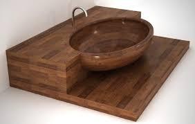 sleek wooden bathtubs the design sheppard