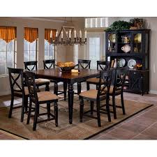 hillsdale furniture 4439dtbsg9 northern heights 9 piece counter