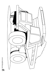 truck coloring pages for toddlers fire printable preschoolers dump