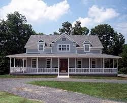 Open Floor Plan Country Homes One Story Country House Plans With Wrap Around Porch And Red Roof