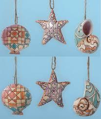jim shore heartwood creek ornament collection mini seashell