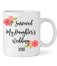 I Survived My Daughter S Wedding Personalized Wedding Mugs Personalized Brides