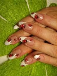 manicure de mariquita manicure pinterest manicures