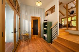 Laminate Floor On Ceiling Corrugated Metal Ideas For The Home U2022 Nifty Homestead