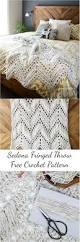 free crochet home decor patterns sedona fringed crochet throw free crochet pattern crocheting