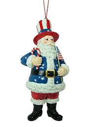 amazon com usa uncle sam santa claus patriotic united states flag