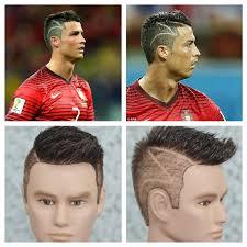 black male haircuts with zig zags cristiano ronaldo zig zag world cup 2014 haircut tutorial youtube