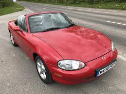 mazda for sale uk used 2000 mazda mx 5 mk2 i for sale in derbyshire pistonheads