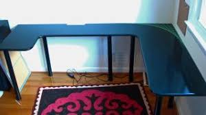 Cheap U Shaped Desk Build Your Own U Shaped Computer Desk For Less Than 100