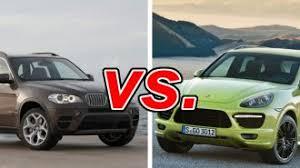 porsche cayenne vs bmw x5 bmw x5 vs porsche cayenne carsdirect