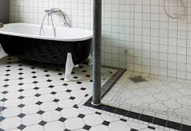 white and black floor tiles bathroom hungrylikekevin com