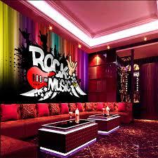 chambre rock grand résumé rock n roll ktv 3d chambre papier peint paysage