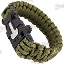 survival bracelet with whistle buckle images Paracord bracelet with quick release signal whistle buckle jpg