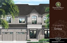 spallacci homes floor plans simona place elevations spallacci