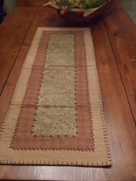 rustic country and stripes summer burlap table