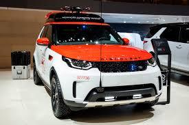 dalam kereta range rover land rover project hero discovery untuk palang merah lengkap