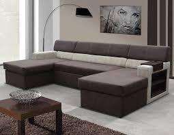 canape avec meridienne canapé angle avec couchage et nombreux rangements