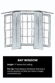 How To Hang Bay Window Curtains Curtains For Bay Windows When Youre On A Budget Window Design