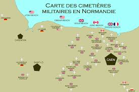 Normandy France Map Visit Normandy Useful Information