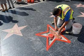 Hollywood Walk Of Fame Map Suspect Arrested In Destruction Of Trump U0027s Hollywood Star U2013 Orange