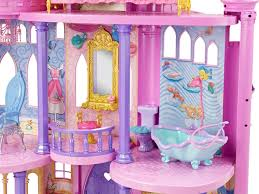 Barbie Princess Bedroom by Disney Princess Ultimate Dream Castle Amazon Co Uk Toys U0026 Games