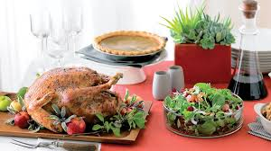 Thanksgiving Traditional Meal 15 Thanksgiving Menus Sunset