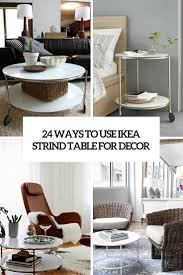 Ikea Use 24 Ways To Use Ikea Strind Coffee Table For Decor Digsdigs