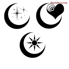 tattoos for free tribal moon designs getattoos us
