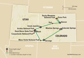 Utah State Parks Map by National Parks Of Colorado And Utah Amazing Journeys