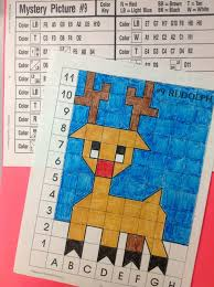 printable christmas graphs holiday graph art projects combine math with art holiday
