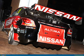 nissan australia financial services ausmotive com 2013 nissan altima v8 supercar revealed