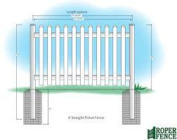 picket fences roper fence at roper fence comroper fence