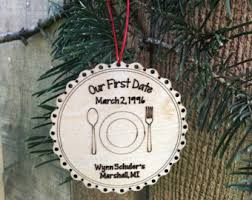 anniversary christmas ornament anniversary ornament etsy