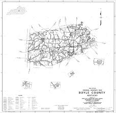 Ky Map Boyle County Kentucky Image Gallery Hcpr