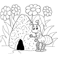 house coloring pages surfnetkids