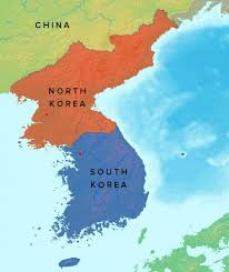Map Of South Korea The Differences Between South And North Korea Explained
