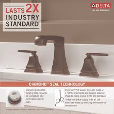 Pex To Faucet Connection Delta Faucet 3564 Mpu Dst Ashlyn Polished Chrome Two Handle